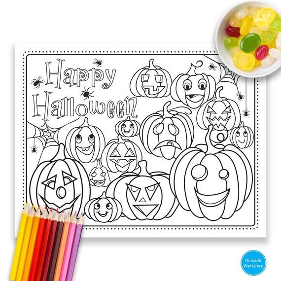 Halloween Pumpkin Coloring Page Halloween Coloring Pages Printable Happy Halloween Pumpkin Halloween Coloring Pages Jack O Lantern
