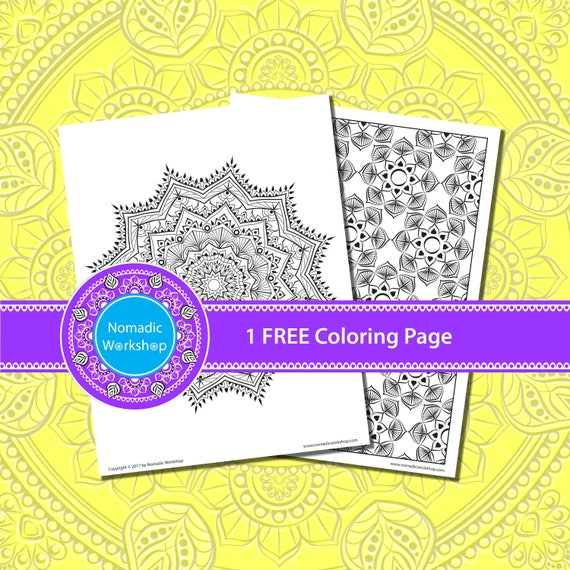 Stress Free Coloring Pages