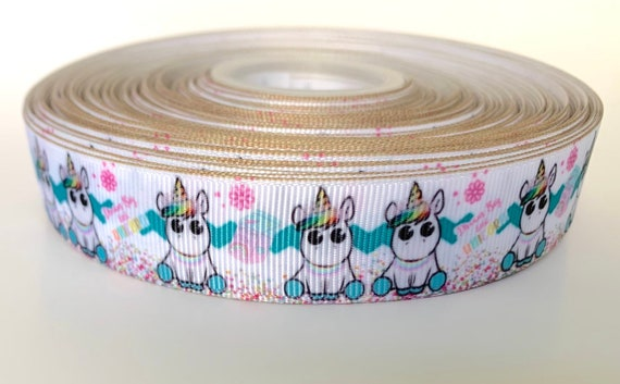 "3 HATCHIMALS printed 7//8/"" Grosgrain Ribbon 1 5,10 Yards SHIP FROM USA"