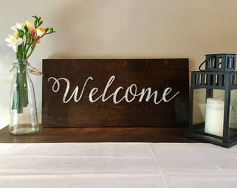 Welcome String Art Sign