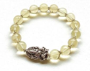 Super gave hand gemaakte armband met Ganesha kraal voor man en vrouw.