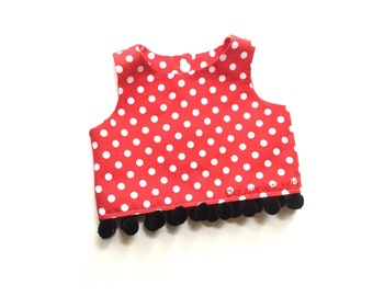 Baby Crop Top Girls Crop Top Minnie Mouse Top Baby Disney Outfit Polka Dot Baby Top Toddler Disney Outfit Girls Minnie Mouse Outfit  sc 1 st  Etsy & Minnie mouse outfit   Etsy