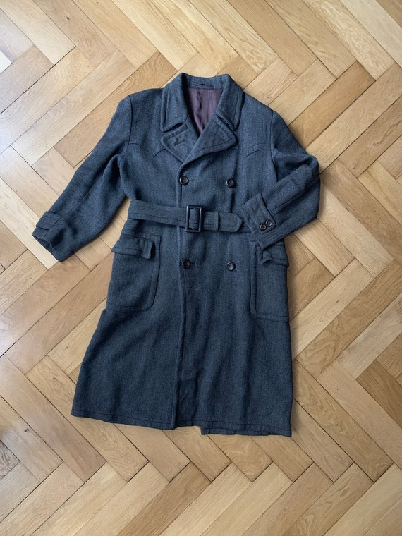 Original late 1920s / 1930s Double Breasted Coat /