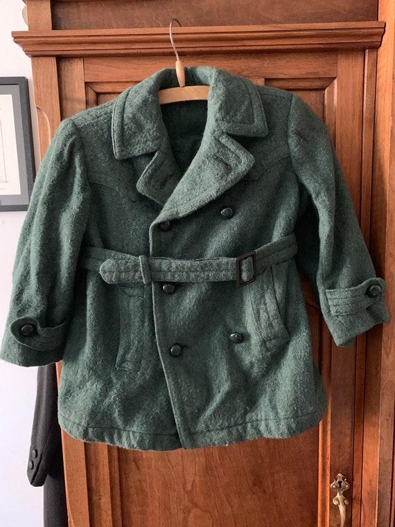 20s / 30s 1920 / 1930 - Kids jacket - Wool - Edwar