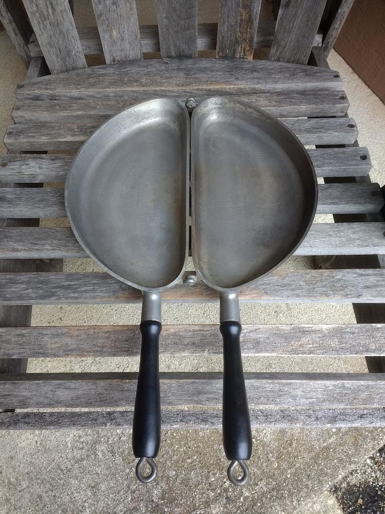 Vintage Club Aluminum Ware Omelet Pan Alumac Flip Skillet Omelet Maker Pan