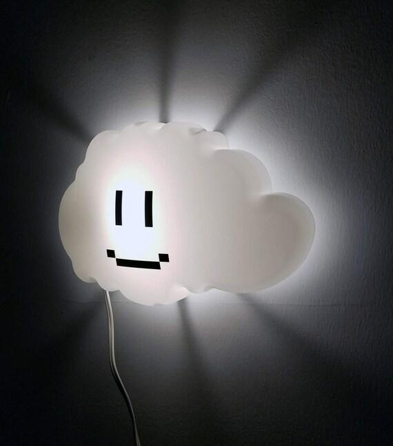 Super Mario Brothers Cloud Nachtlicht, Kinderzimmer Dekoration, Geek  Geschenk, Cloud-Lampe, Videospiel-Nachtlicht, Inneneinrichtungen, Geburtstag