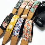 Promotion wholesale price items! NuovoDesign floral camera strap (Many colors available) for DSRL and mirrorless