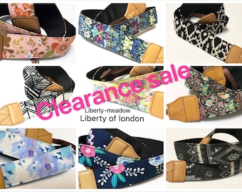 Clearance sale price item,NuovoDesign assorted collection (Many patterns available) camera strap for DSLR and mirrorless