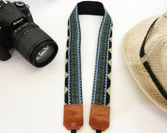 NuovoDesign Deluxe edition 'Collar' geometric camera strap for DSLR and mirrorless