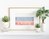 Watercolor Russian Flag Printable - Heritage - Ancestry