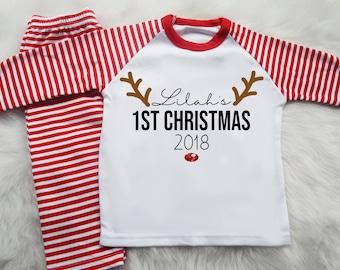 4b6b04e53 Personalized christmas pajamas