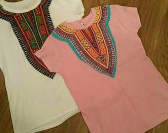 Dashiki Style T-shirts
