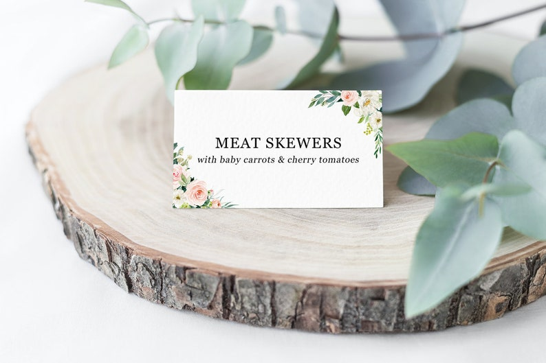 Strange Food Tent Cards Template Editable Printable Candy Buffet Signs Wedding Food Signs Cute Floral Food Labels Template Instant Download Pdf Interior Design Ideas Tzicisoteloinfo