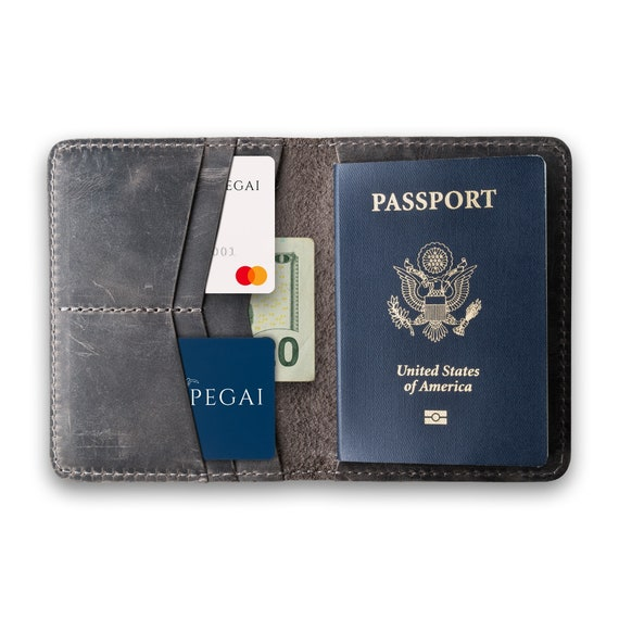 Reisepassetui f/ür Reisezubeh/ör RFID - Schutz Travel Wallet f/ür Reisepaesse ETAVI /® Reisepassh/ülle Belize Leder Passport H/ülle Reisemappe Herren