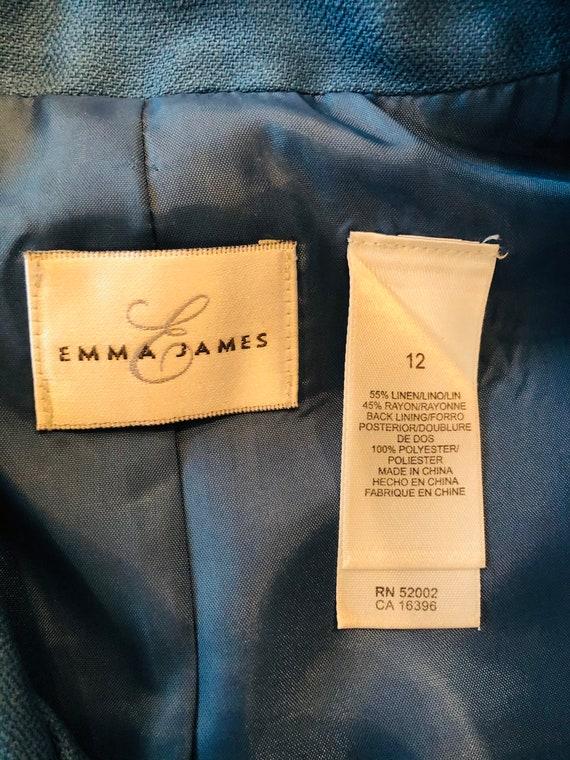 Vintage Emma James Linen Suit - image 4