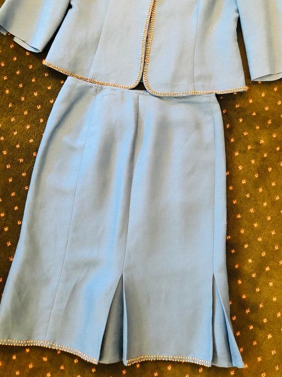 Vintage Emma James Linen Suit - image 8