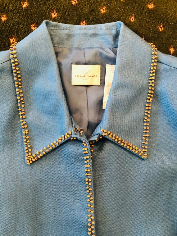 Vintage Emma James Linen Suit - image 3