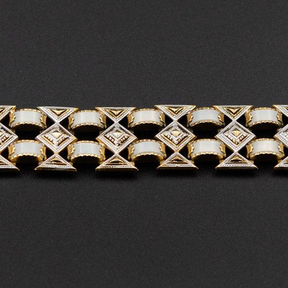 Chunky bracelet gold Damascene jewelry Spain weddi