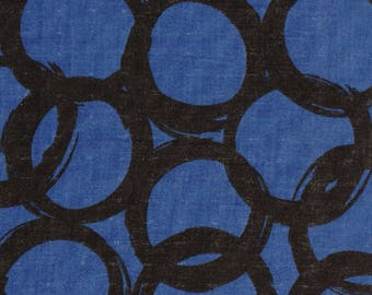 Ellen Baker - Paint - Japanese Fabric - Kokka Double Gauze -  Loops - Japan Cotton Double Gauze - 50 cm cut