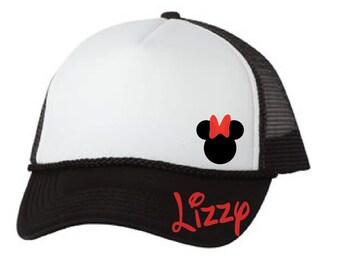 5d1dc708d Disney Mickey dad hats family Disney caps Minnie dad hat   Etsy