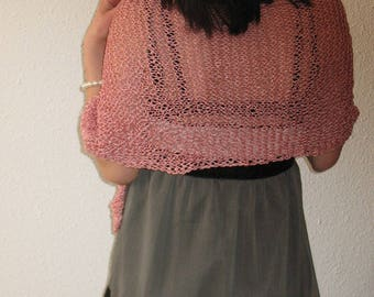 Pink Poncho, summer poncho, poncho cotton , viscouse, pink spring poncho, wedding poncho, party, woman,ponchos