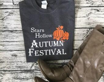Gilmore Girls Autumn Festival Tee Shirt