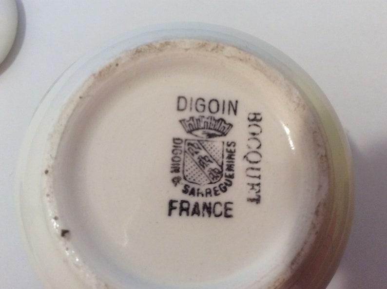 Vintage French Mustard Jar Moutarde Boequet Yvette 1735