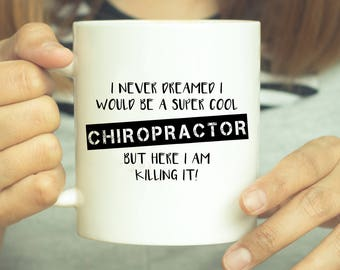 Chiropractor, Chiropractor Mug, Chiropractor Gift, Coffee Mug, Cup, Mug, Chiropractor Cup, Chiropractic, Graduation Gift, Chiropractic Gifts