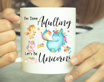 Unicorn Gift, Unicorn, Unicorn Gifts, Unicorn Mug, Unicorn Decor, Rainbow Unicorn, Unicorn Lover, Birthday Gift, Rainbow, Funny Coffee Mug