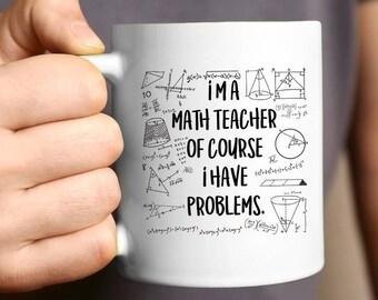 Math Mug Etsy