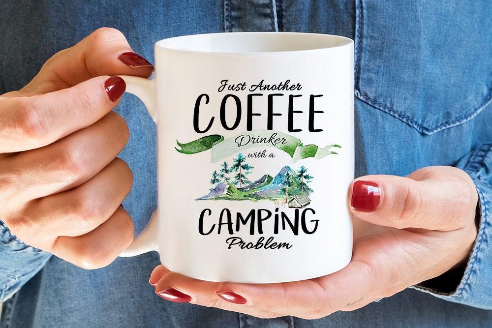 Becher Probleme Kaffeebecher Camping Camping erwartet | Etsy