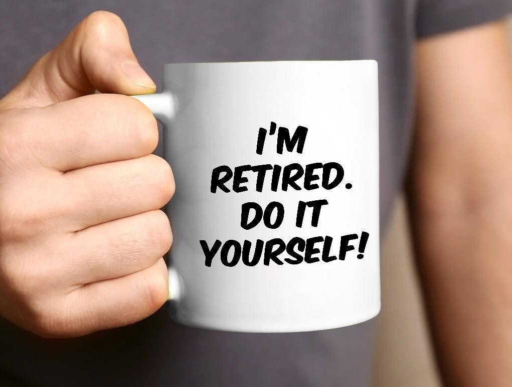 Ruhestand Becher Geschenk Kaffeebecher Ruhestand lustige | Etsy