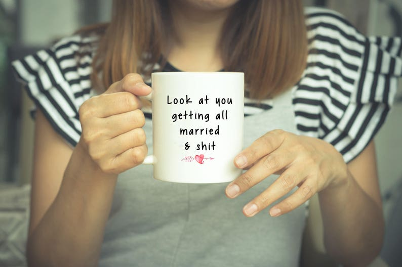 Engagement Gift Funny Engagement Wedding Gift Bridal Shower Etsy