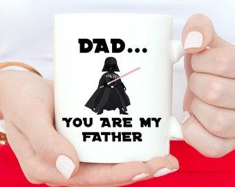 You Are My Father Mug, Funny Mug, Fathers Day, Coffee Mug, Funny Mug, Gift For Him, Darth Vader, Funny Coffee Mug, Darth Vader Mug, Dad Gift