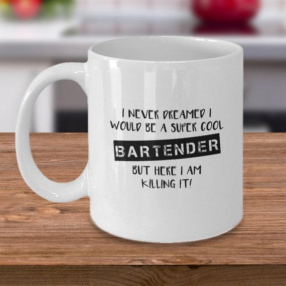 Barkeeper Barkeeper Geschenk Barkeeper Tasse Becher