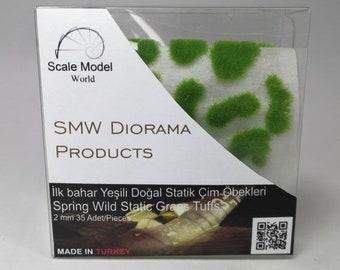 Wild Static Grass Tufts 2mm