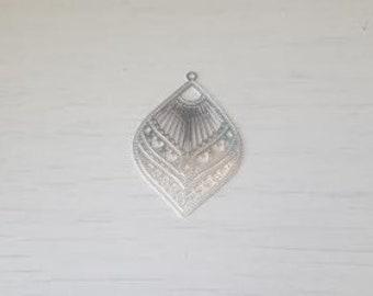 Print drop silver Bohemian