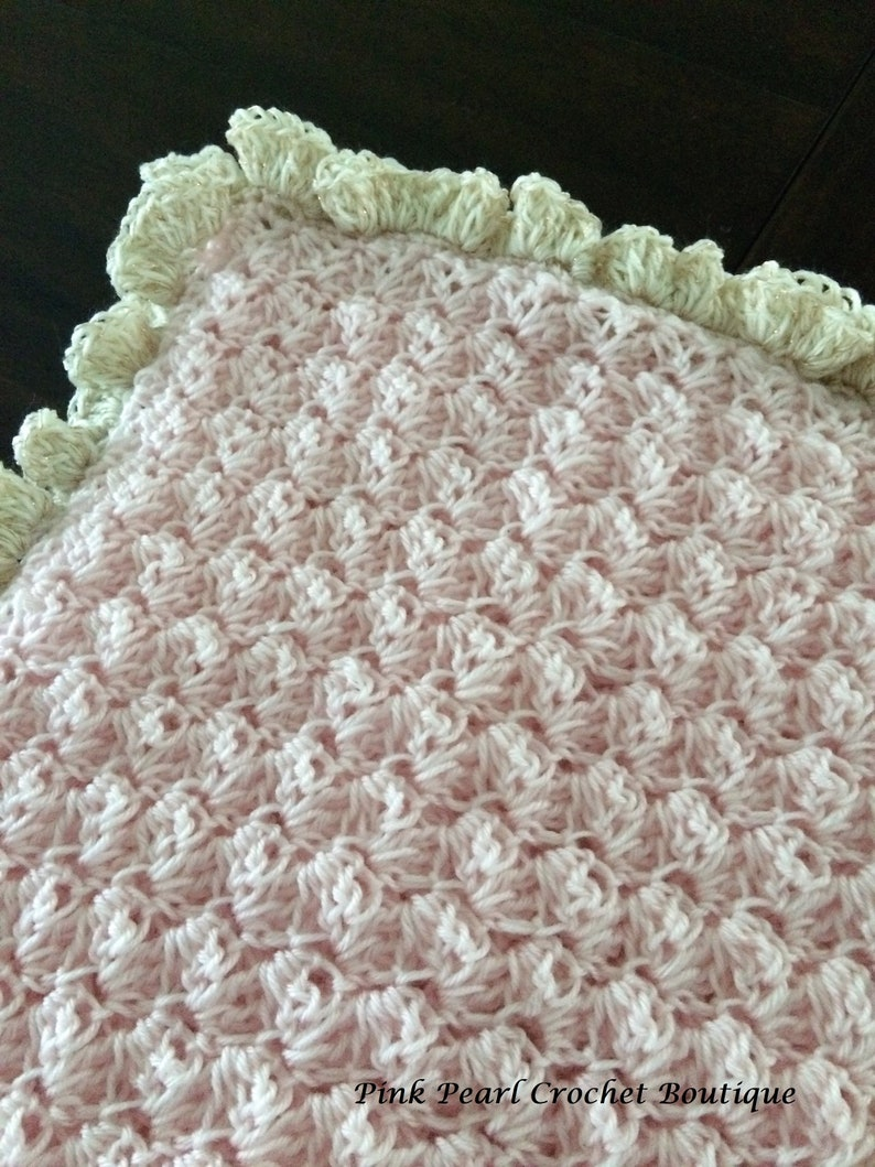 Baby Fine Hand Made Crochet Baby Blankets