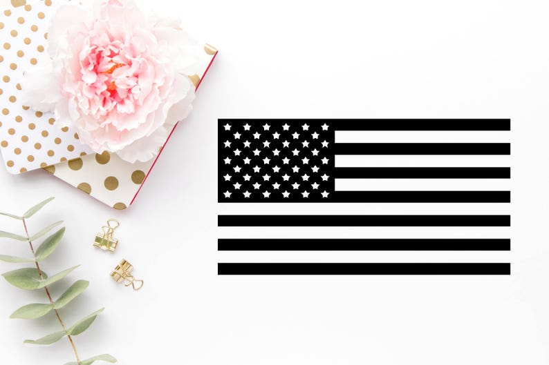 American Flag SVG  Fourth Of July Svg  Flag dxf  Flag  png image 0