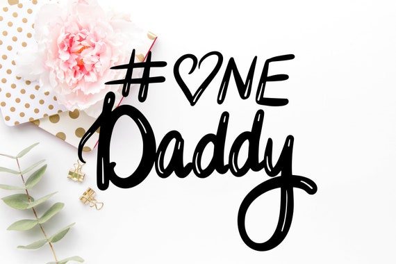 Number One Dad Fathers Day Svg Dad Svg Fathers Day Svg Etsy
