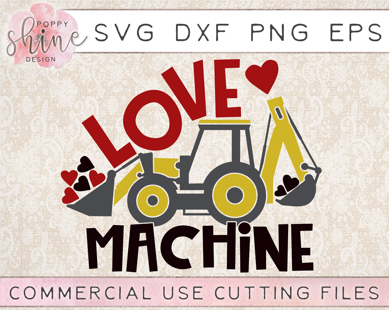 svg Baby bodysuit svg png hearts heart Love Machine SVG ai Candy machine Valentine/'s day svg eps love dxf
