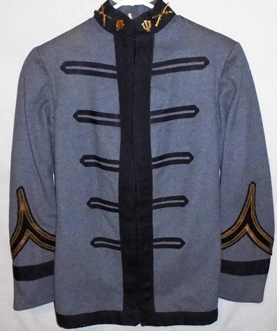 Antique 1910's Military Cadet Jacket - University