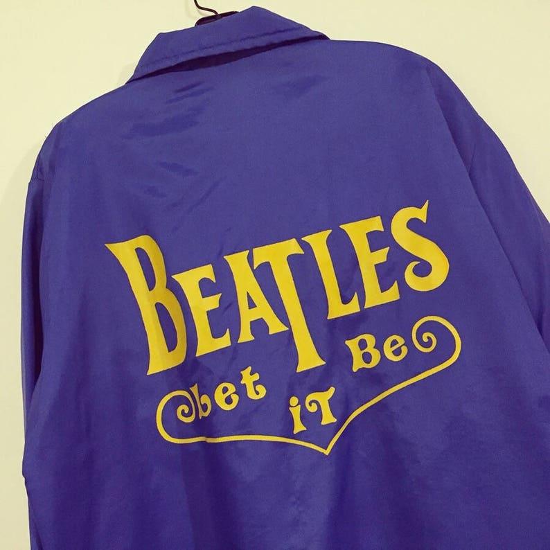 Rare Vintage 70s Beatles Let It Be Jacket