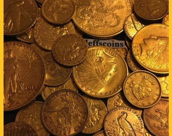 25 Dollar Gold Coin