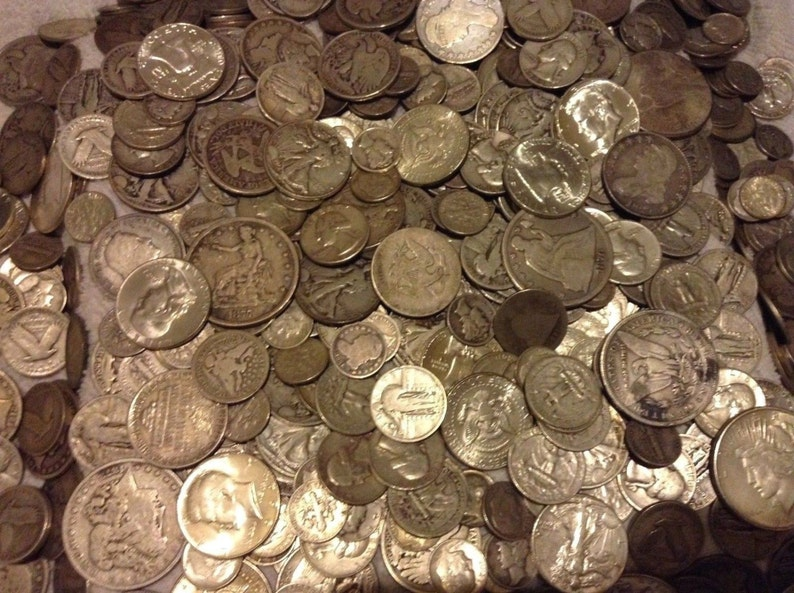 MORE HOARD SILVER,GOLD,100 YEARS 10+ ITEMS! FANTASTIC GIFT COIN LOT