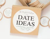 Date Idea Box / Date Night Ideas / Wedding Gifts / Date Box / Bridal Shower Gifts / Anniversary Gifts / Valentine's Day Gift