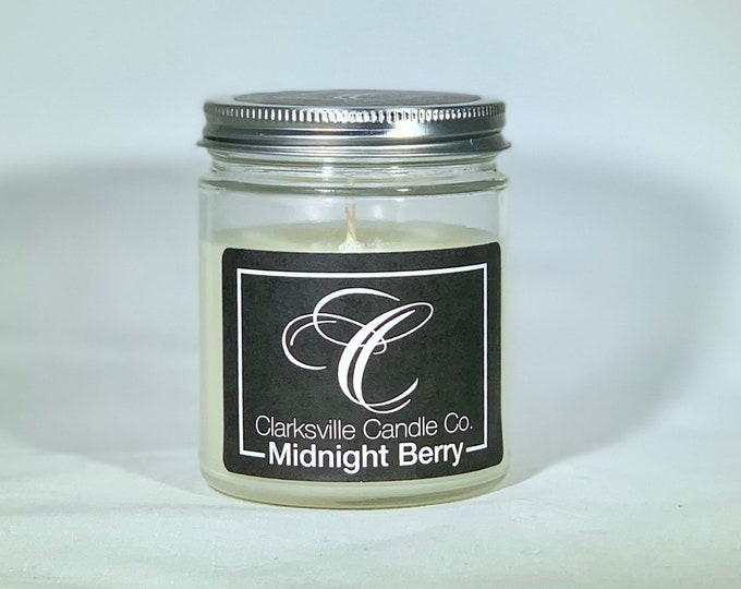 Midnight Berry All Natural Soy Candle 6oz