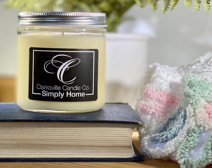 Simply Home All Natural Soy Candle 6oz