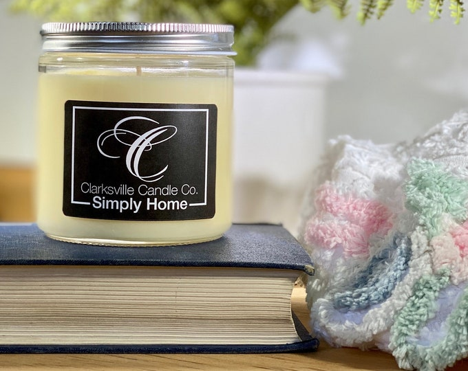 Simply Home All Natural Soy Candle 12oz