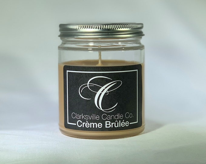 Creme Brulee All Natural Soy Candle 12oz